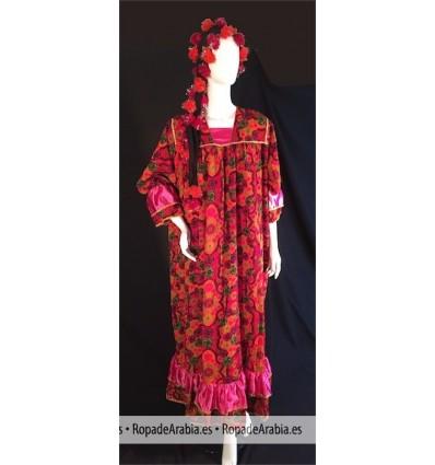 Vestido Tradicional Fallahi (Egipto)
