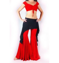 Sobre falda desigual Tara