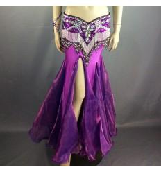 Falda Sirena con falda en tela cristal