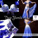 TRAJE YAMILA azul