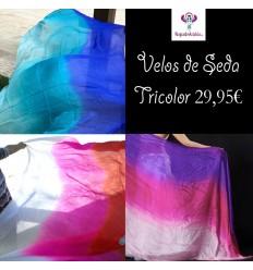 Velos de Seda Tricolor