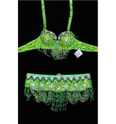 Conjunto dos piezas TRIANGLE Verde Pistacho