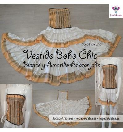 Vestido Asimétrico Boho Chic