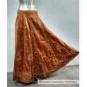 Falda India Bronce