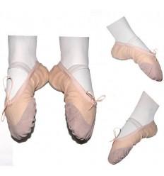 Zapatillas de Ballet en tela BEIGE - DEL 36 AL 41