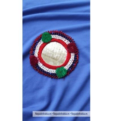 Medallón Kuchi 8 x 7 cm