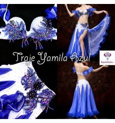 TRAJE YAMILA azul - TARA