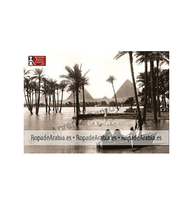 Póster Pirámides de Egipto A4 o A3