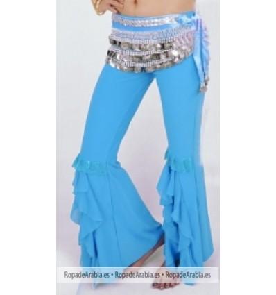 Pantalon Campana con Tela Lentejuelas