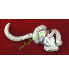 Broche Serpiente con Strass