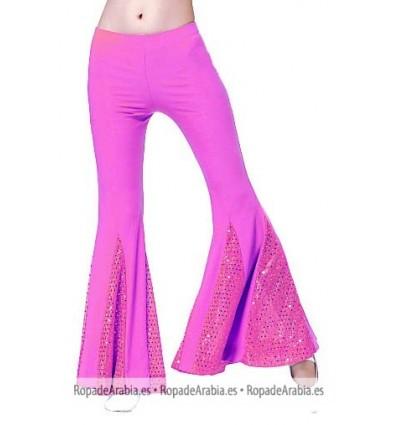 Pantalón con tela lentejuelas