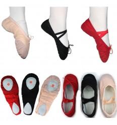 Zapatillas de Ballet en tela - DEL 36 AL 43
