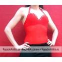 Body Transparente con sujetador y strass
