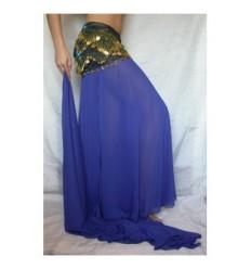 Falda de gasa con 3 aberturas