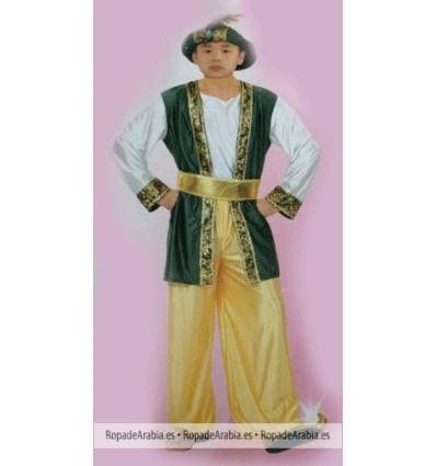 Sultán Árabe - Disfraz Niño