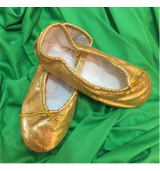 Zapatillas de Ballet Dorado OSCURO ¡últimas unidades!